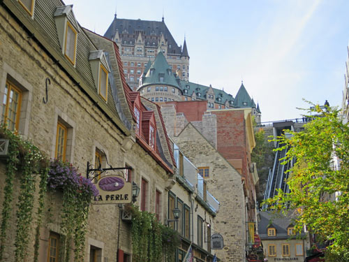 Funicular in Old Quebec