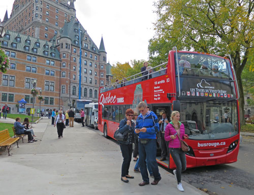 Hop-on Hop-off Bus in Quebec City